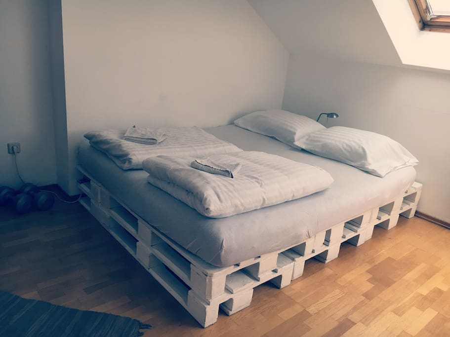 Your bed :)