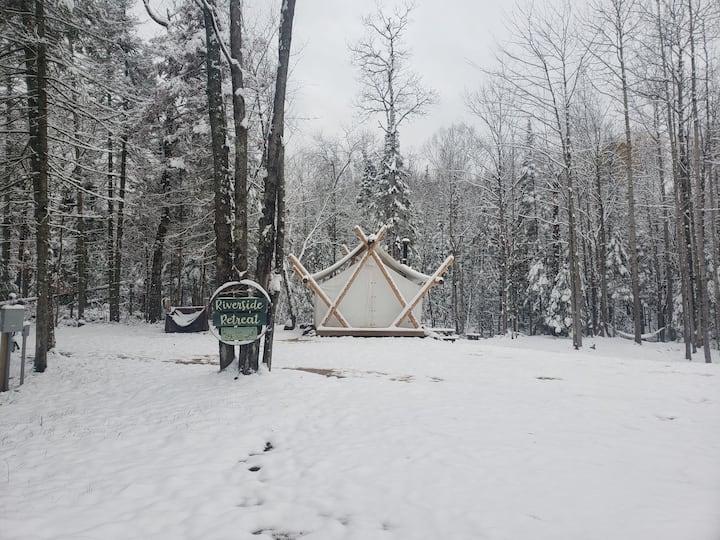 Riverside Retreat Winter Edition