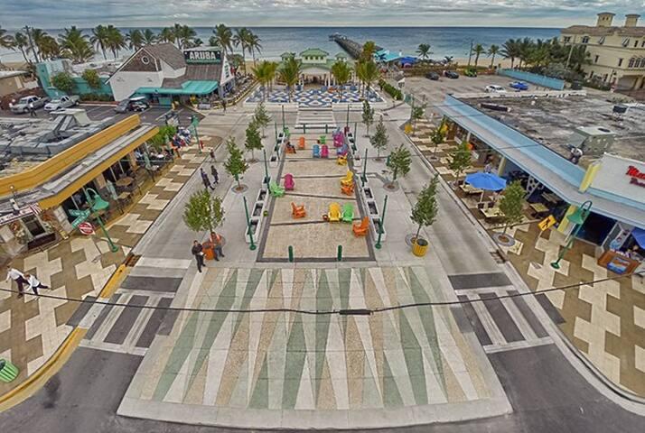 3 Studio apt ,steps to beach, - Lauderdale-by-the-Sea - Apartmen