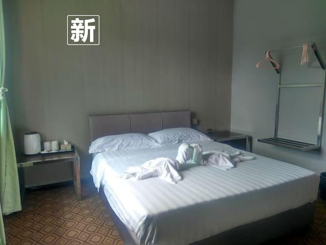 仙本那侨之家大床房_独立卫生间(中文房东)提供免费早餐