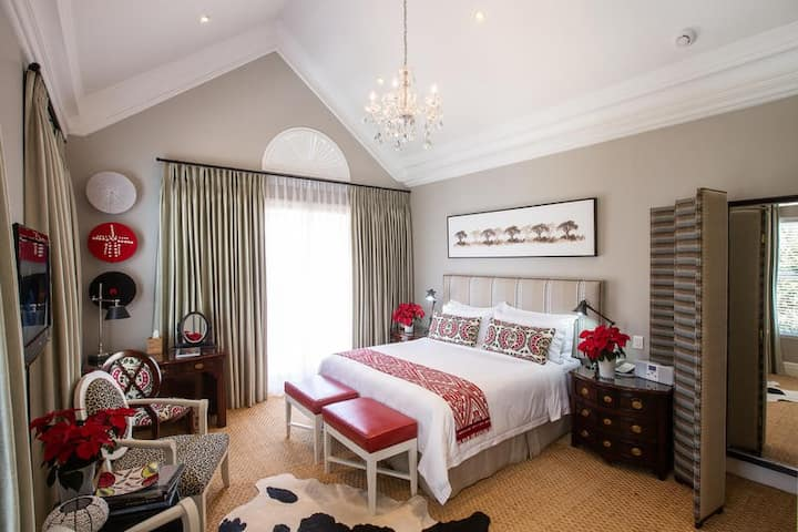 Afro-Chic Suite at The Light House Boutique Suite