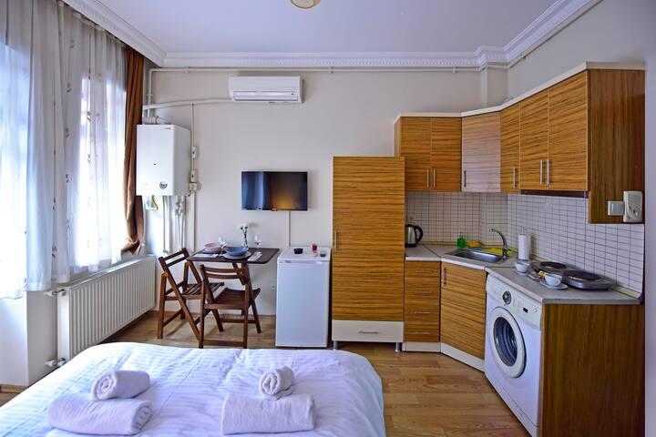 Temiz odalar ve güler yüzlü personel :)