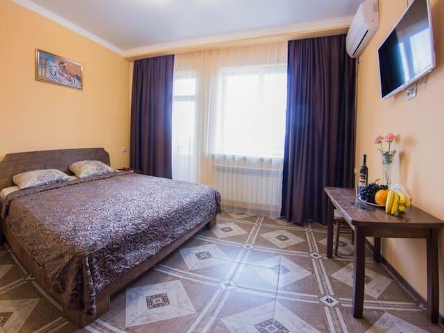 Standard single room. Hotel Sova