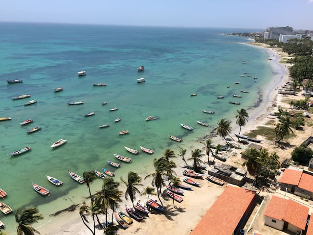 Flat in Margarita Island nice view and balcony - Porlamar - Daire