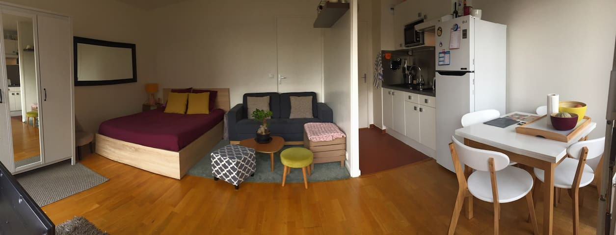 Bel appartement terrasse Bastille - Paris-11E-Arrondissement - Byt