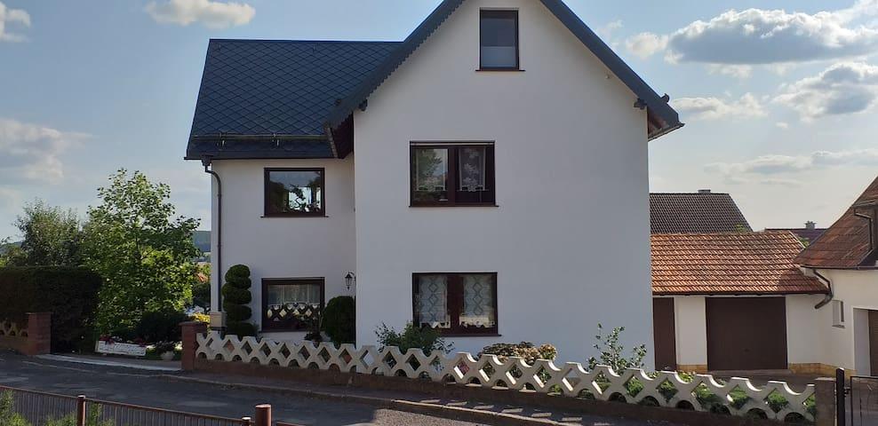 gemütliche große Wohnung in ruhiger Lage