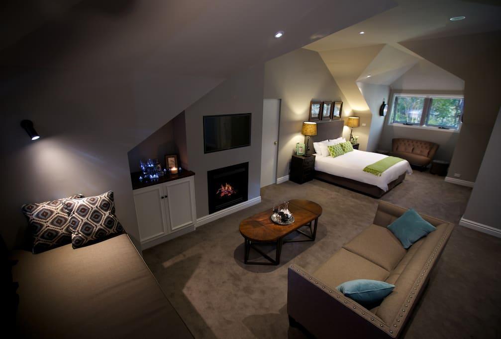 Loft Room at Parklands Cottage