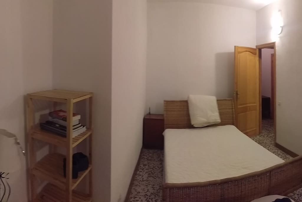 Double bed on Room pano Pic