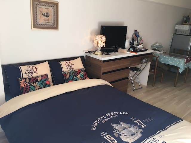 1 min from station/Pocket Wi-fi - Yokohama - Apartamento
