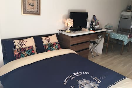 1 min from station/Pocket Wi-fi - Yokohama - Leilighet