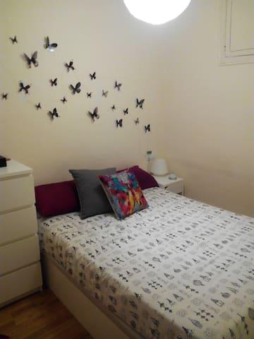 Habitación: Caama doble en el centro de Barcelon - Barcelone - Maison