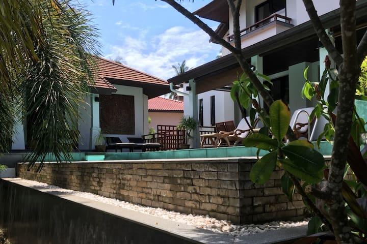 Private Family Villa just 7 mins from Santiburi
