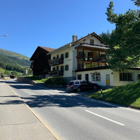 Davos-Glaris, zentral gelegene Wohnung