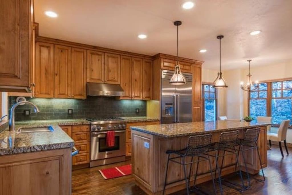 High End Kitchen With Lots of Great Appliances