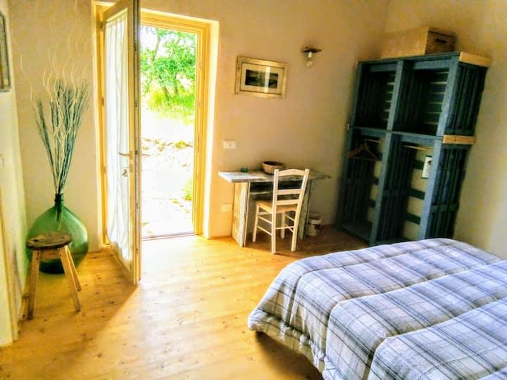 Casa Adriana (ecologica in paglia)  Camera Celeste