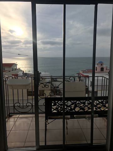 Relaxing balcony with ocean view - Tijuana - Appartement