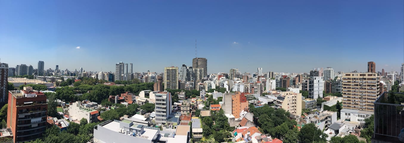 BUENOS AIRES PALERMO APARTMENT – AMAZING VIEWS