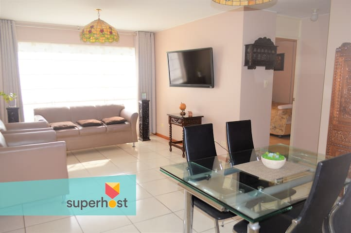 2BR APARTMENT - EXCELLENT LOCATION IN PUEBLO LIBRE