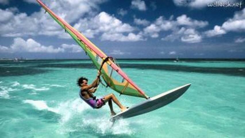 Andora, patria del Windsurf e degli sport di mare