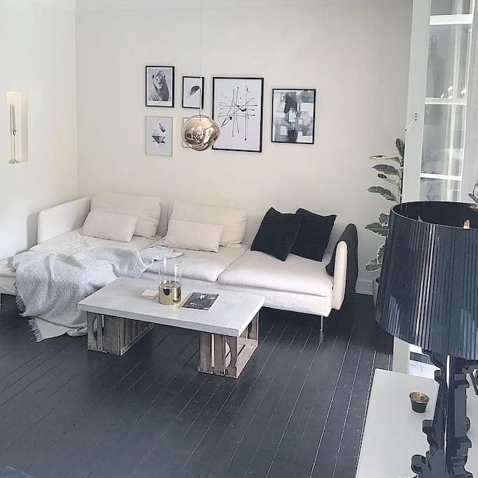Living room and couch