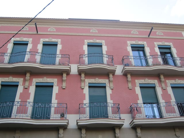A flat for 1 or 2 people in Manresa center. - Manresa - Apartamento