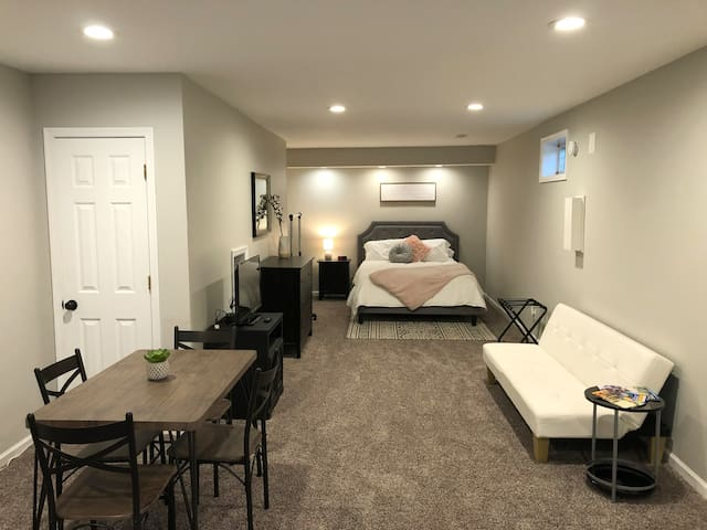 Spacious Newly Renovated Suite w/ Private Entrance