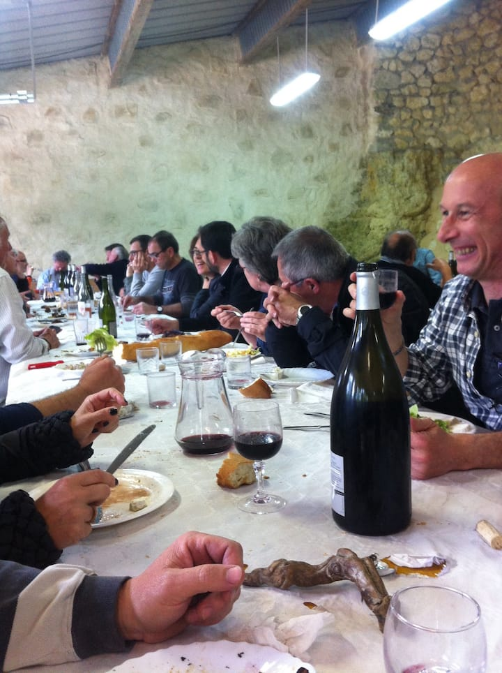 winemaker lunch included
