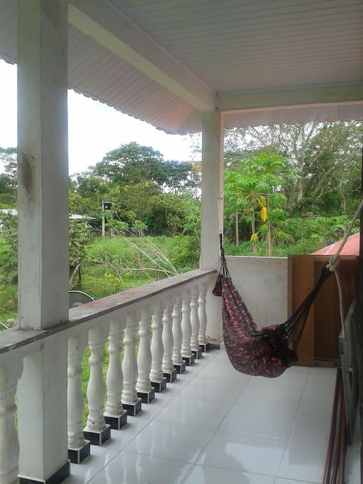 ¿Quién se resiste una siesta en el balcón?