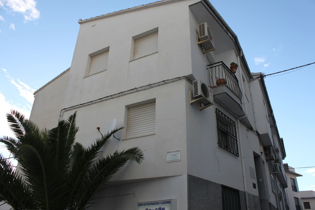 Exterior del edificio.