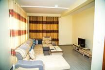 Comfy and spacious living room