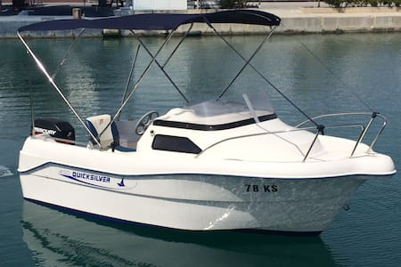 Quicksilver 450 Cabin - Split - Barco