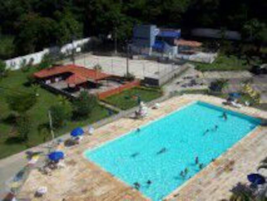 Com acesso à piscina