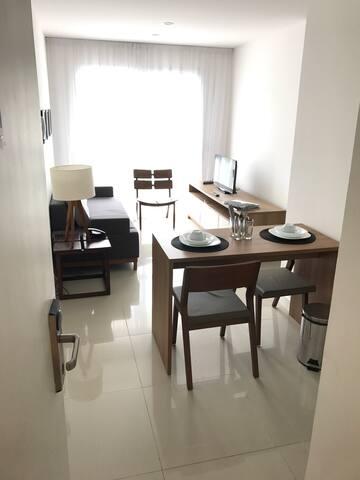 Lindo apto mobiliado (próx PROJAC) - Rio de Janeiro - Appartement