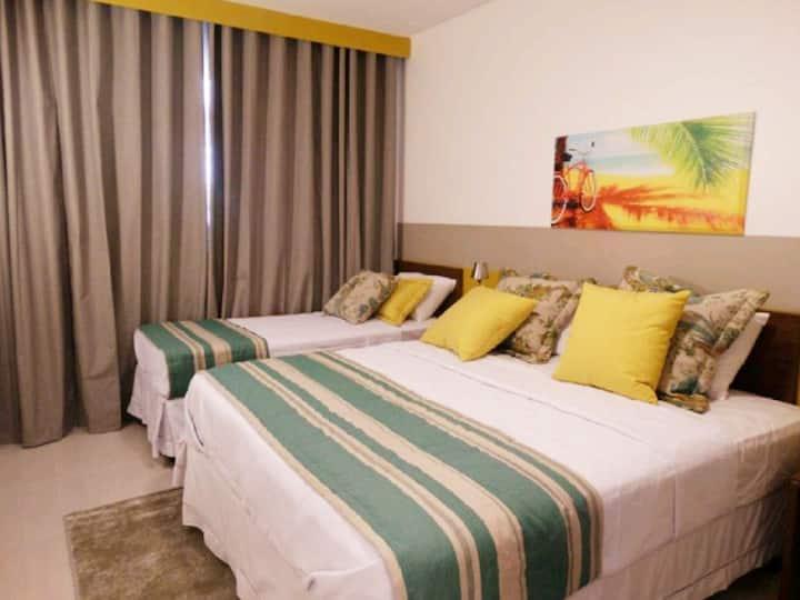 Apartamento inteiro no Olímpia Park Resort