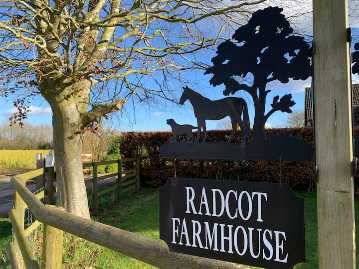 Radcot Farm House Annexe nr Clanfield, Oxfordshire