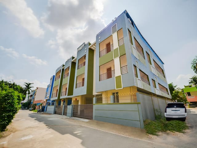 OYO-1BR Abode for Budget-Friendly Travellers in Maduravoyal