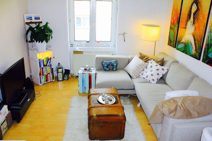 Comfortabel Room, 10 min from Fair - Frankfurt - Wohnung