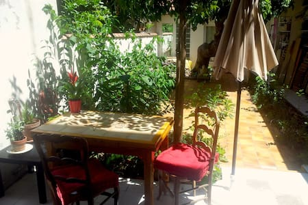 Nice garden, near train station, old port & Mucem - Marseille - Apartment