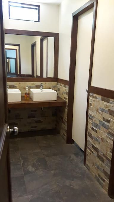 Restaurant restroom
