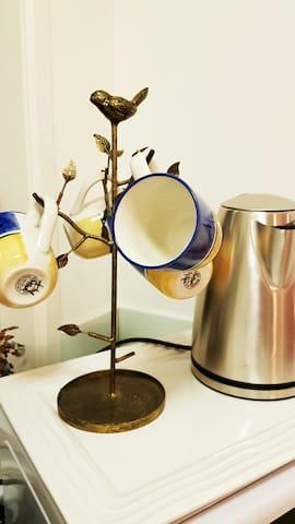 Quirky  mugs or elegant bone china tea cups