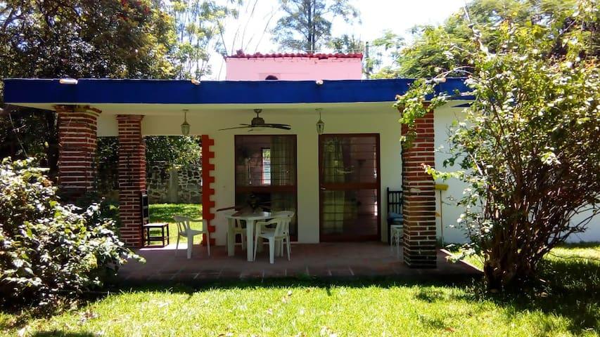La casa de campo de los abuelos