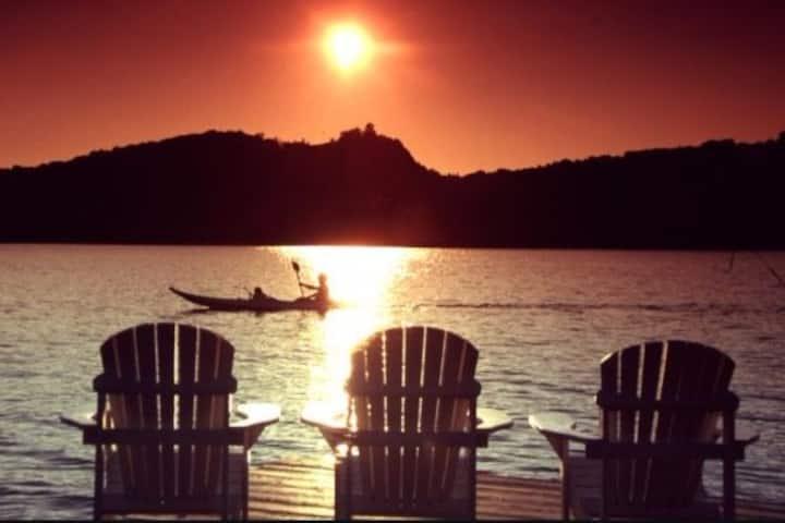the getaway at crystal lake!