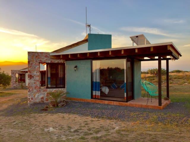 Cabaña ecológica en el Semidesierto. Hai Xëní