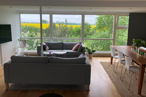 House with a view in beautiful outskirts of Lund