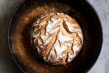 We bake our sourdough bread fresh every morning, just for you.