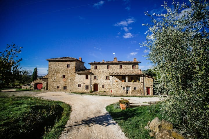 FARMHOUSE PALAIA near Florence apt Botti