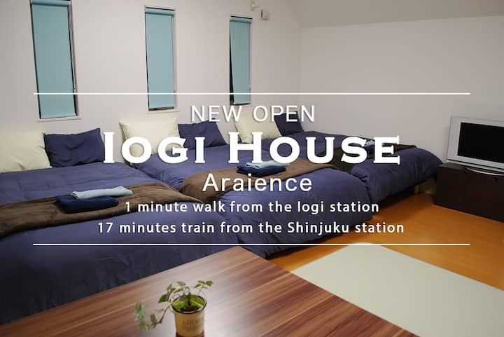 [new construction]  1min Iogi Sta. /17min Shinjuku