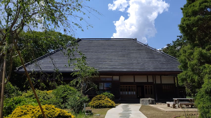 Traditional Japanese folk house