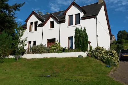 Luxurious en-suite bedroom very near town centre - Fort William