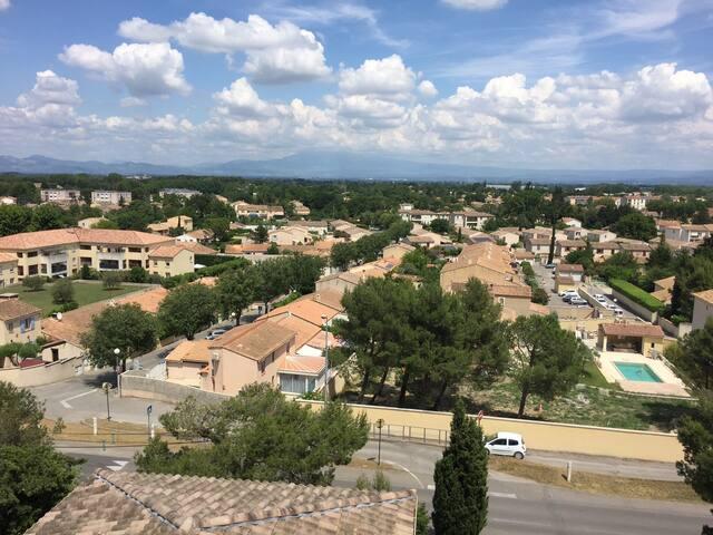 Chambre sur Vedène (proche Avignon) pour 2 p - Vedène - Wohnung